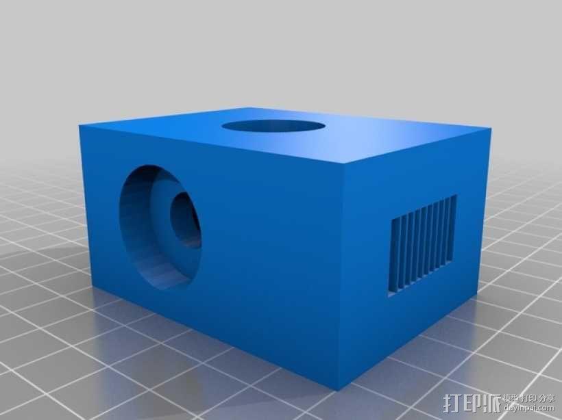滚铣螺栓 3D模型  图4