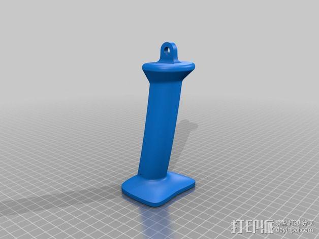 3D扫描仪手柄 镜头盖 3D模型  图3