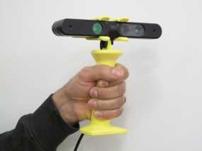 3D扫描仪手柄 镜头盖 3D模型