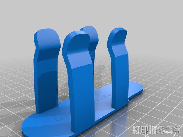 3D扫描仪手柄 镜头盖 3D模型  图2