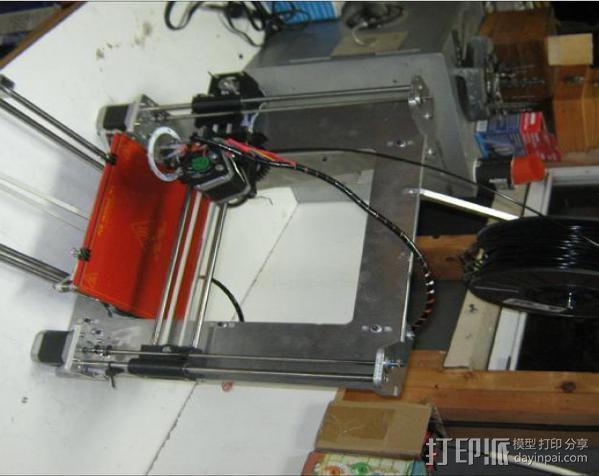 prusa i3打印机铝制框架 3D模型  图3
