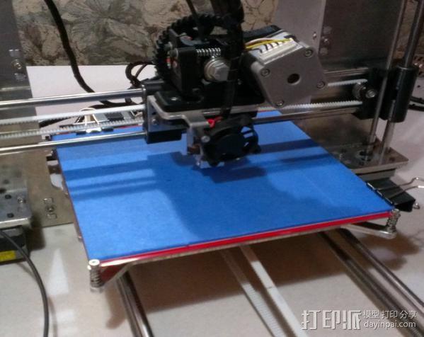 prusa i3打印机铝制框架 3D模型  图7