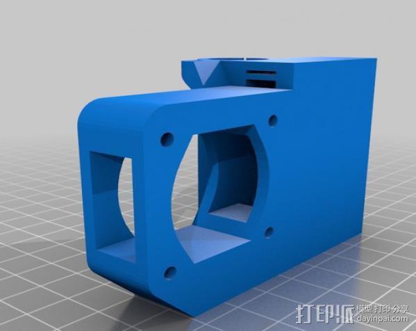 prusa i3打印机铝制框架 3D模型  图8