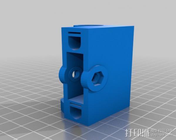 prusa i3打印机铝制框架 3D模型  图9