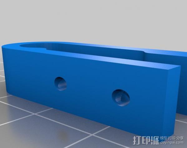 prusa i3打印机铝制框架 3D模型  图10