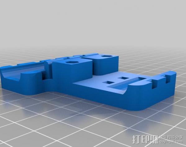 prusa i3打印机铝制框架 3D模型  图12