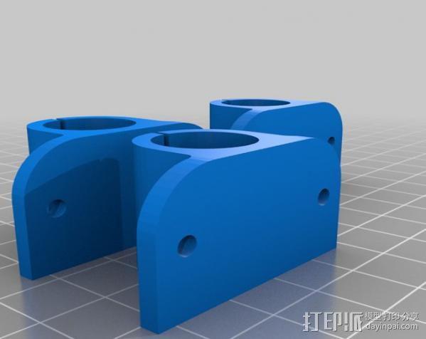prusa i3打印机铝制框架 3D模型  图11