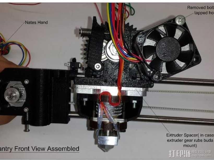 prusa i3打印机铝制框架 3D模型  图17