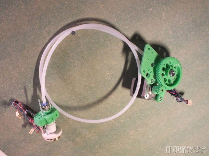 Rich's Bowden 齿轮挤出机 3D模型  图1