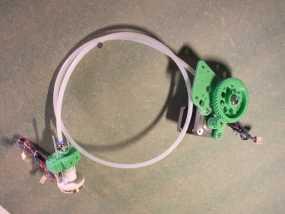 Rich's Bowden 齿轮挤出机 3D模型
