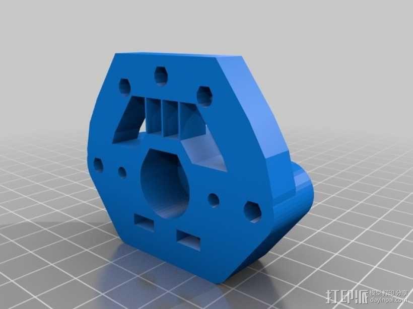 Rich's Bowden 齿轮挤出机 3D模型  图5