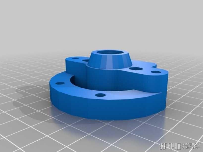 Rich's Bowden 齿轮挤出机 3D模型  图4