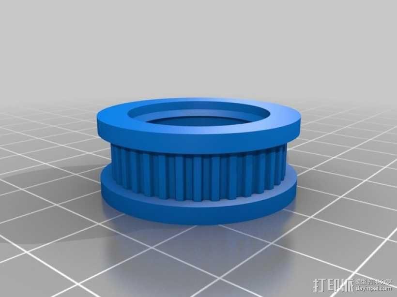 皮带滑轮 3D模型  图4