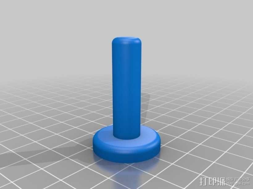 打印机温度标 3D模型  图4