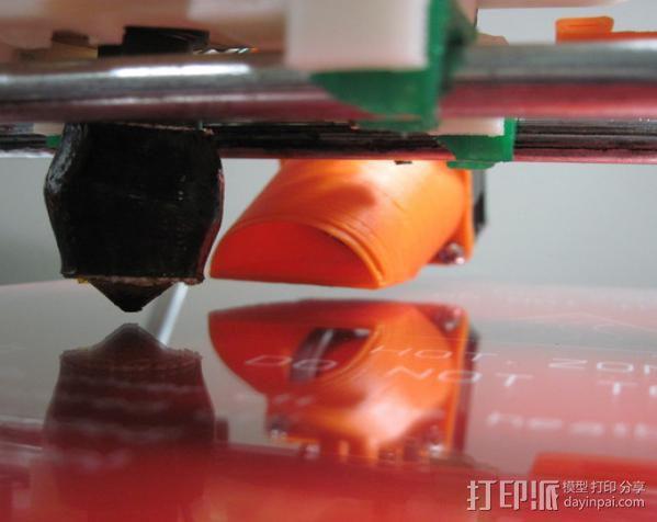 可调节的风扇座 通风导管 3D模型  图4