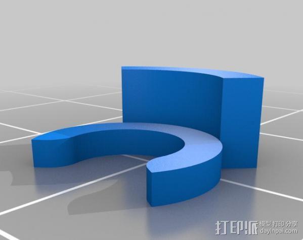挤出机 3D模型  图16