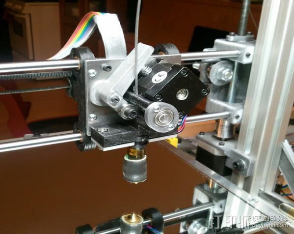 铝制Mendel打印机 3D模型  图2