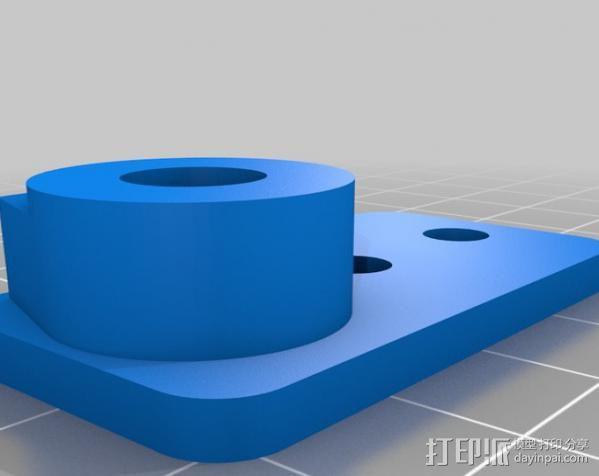 铝制Mendel打印机 3D模型  图5