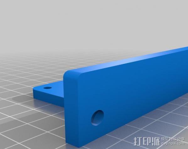铝制Mendel打印机 3D模型  图6