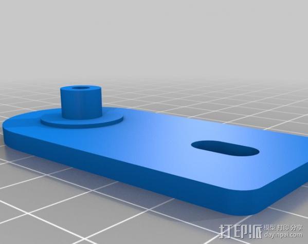 铝制Mendel打印机 3D模型  图7