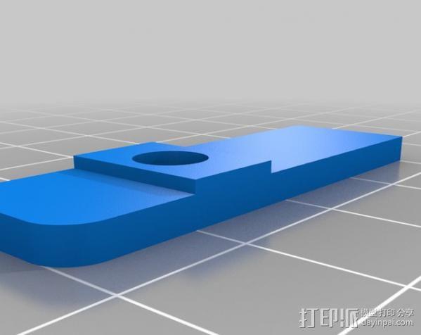 铝制Mendel打印机 3D模型  图8