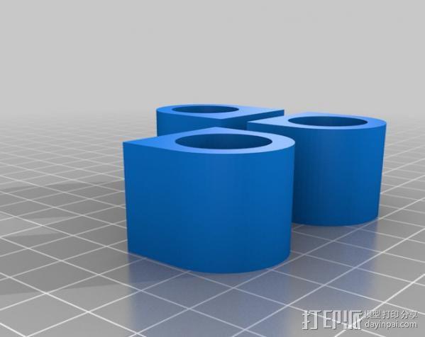 铝制Mendel打印机 3D模型  图9