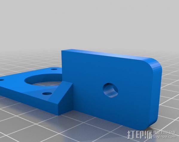 铝制Mendel打印机 3D模型  图10