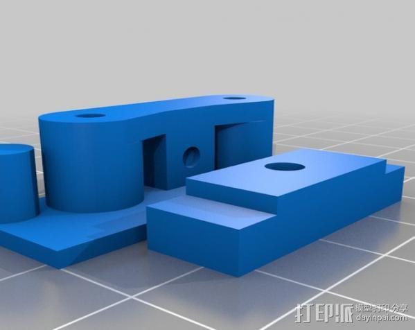 铝制Mendel打印机 3D模型  图13