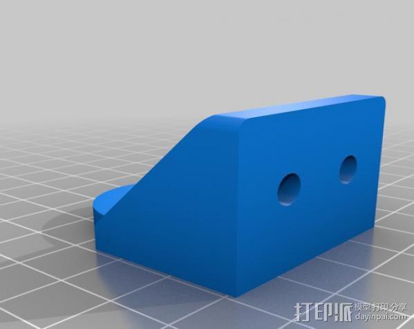 铝制Mendel打印机 3D模型  图12