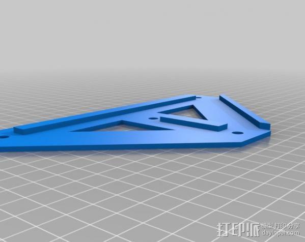 铝制Mendel打印机 3D模型  图16