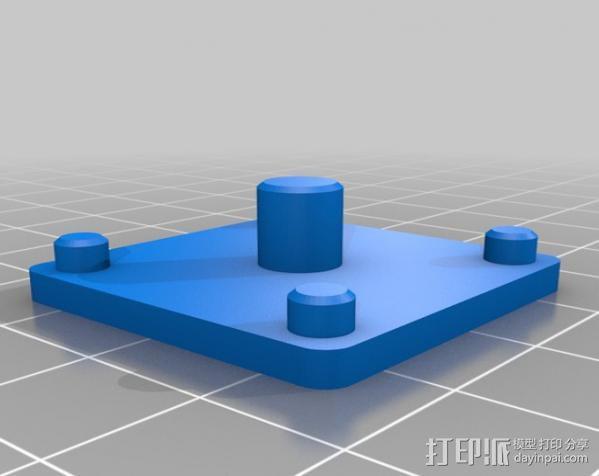 铝制Mendel打印机 3D模型  图15