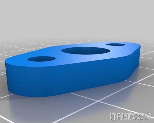 铝制Mendel打印机 3D模型  图18