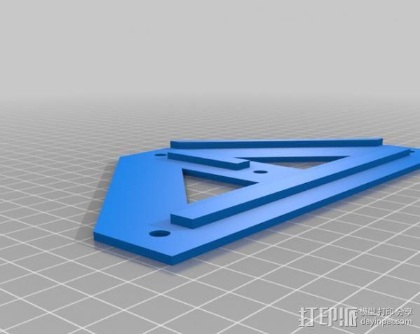铝制Mendel打印机 3D模型  图20