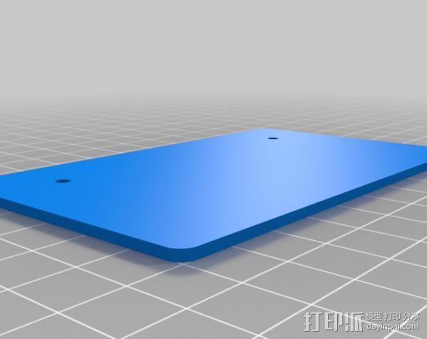铝制Mendel打印机 3D模型  图21