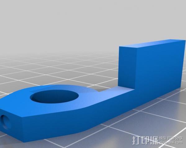 铝制Mendel打印机 3D模型  图23
