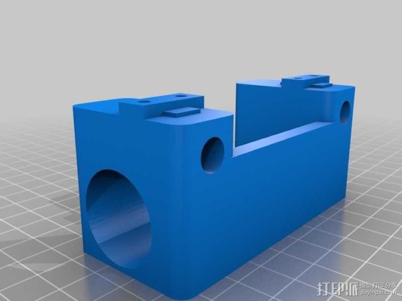 铝制Mendel打印机 3D模型  图22
