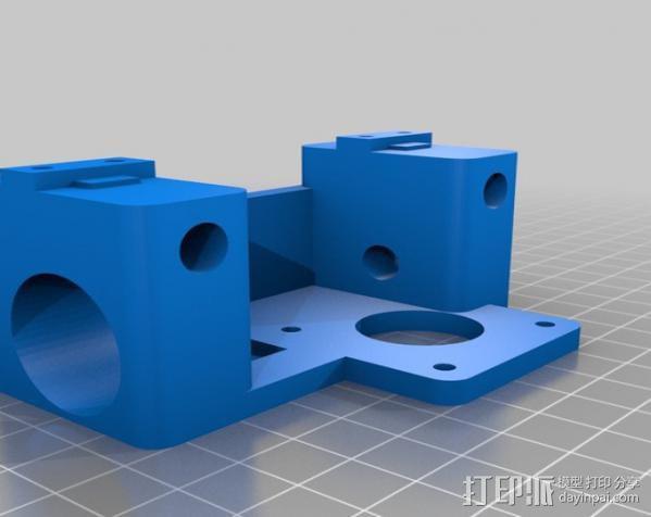 铝制Mendel打印机 3D模型  图25