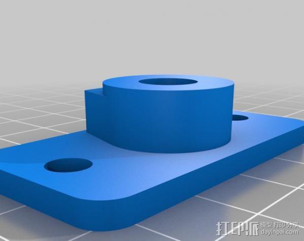 铝制Mendel打印机 3D模型  图26