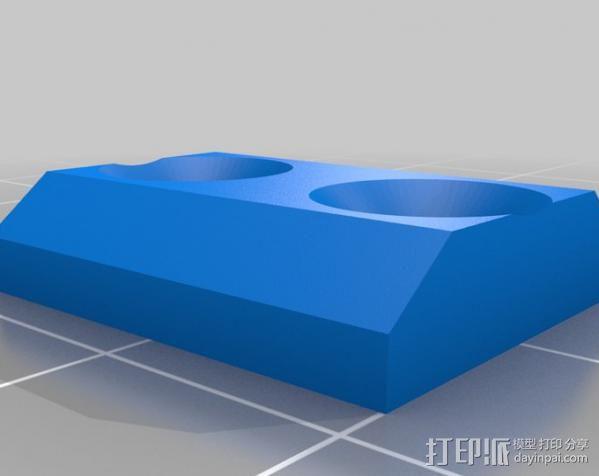 铝制Mendel打印机 3D模型  图24