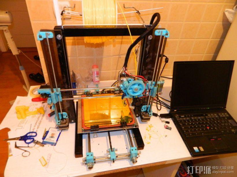 Prusa (iron) 3d打印机 3D模型  图1