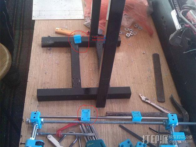Prusa (iron) 3d打印机 3D模型  图7