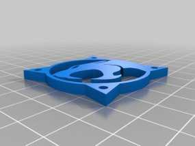 霹雳猫风扇罩 3D模型