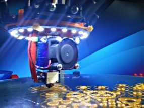 Rostock MAX / Orion打印机LED环 3D模型