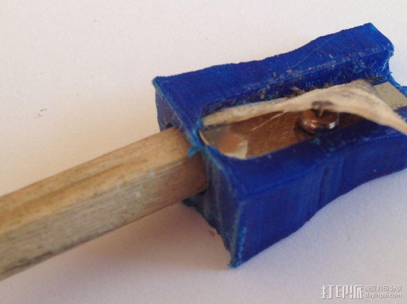 卷笔刀 3D模型  图1