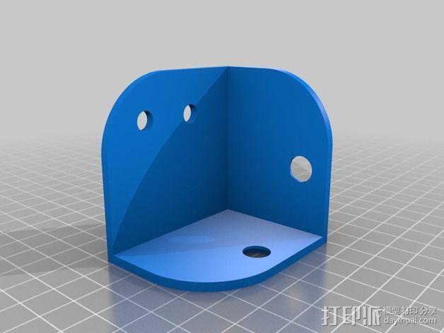 Replicator 2打印机线轴桁架 3D模型  图3
