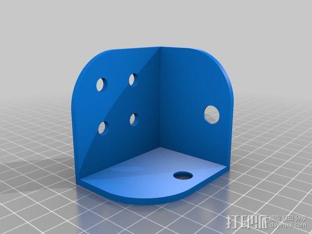 Replicator 2打印机线轴桁架 3D模型  图5