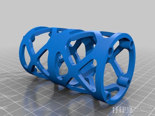 Replicator 2打印机线轴桁架 3D模型  图6