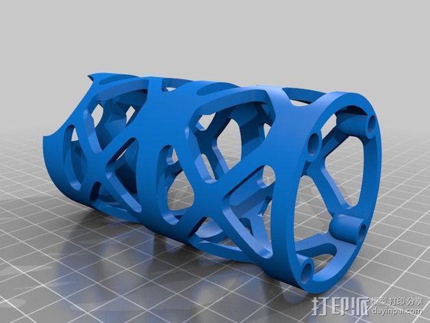Replicator 2打印机线轴桁架 3D模型  图7