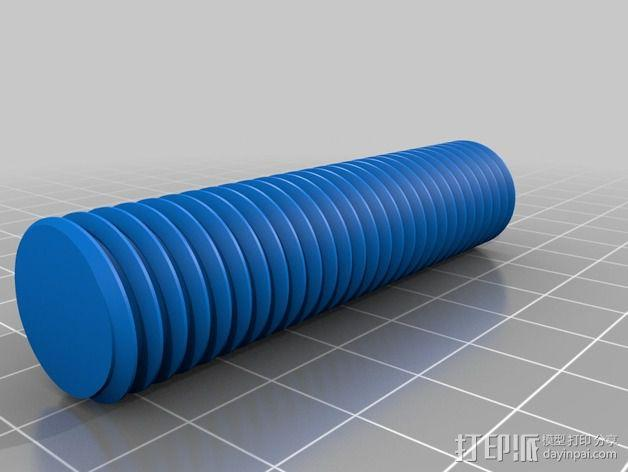 Replicator 2打印机线轴桁架 3D模型  图8