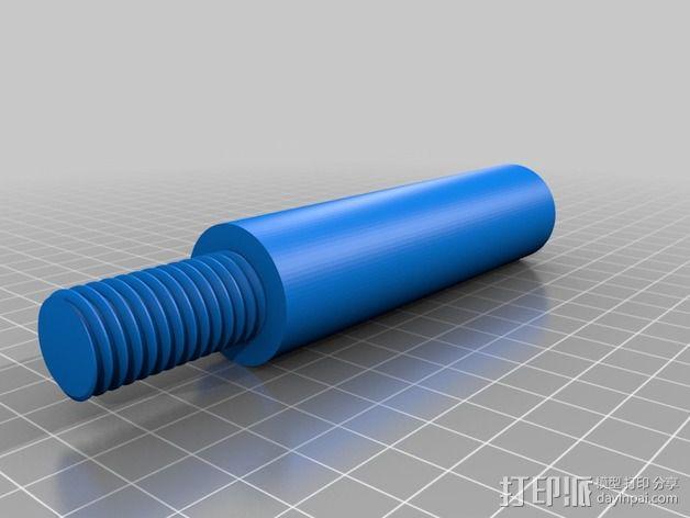 Replicator 2打印机线轴桁架 3D模型  图9